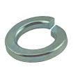 Split Lock Washer Zinc Plated