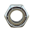 Grade 2 Nylon Lock Nuts Zinc