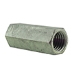 Hex Coupling Nut HDG