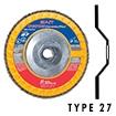 Type 27 (Flat Disc)