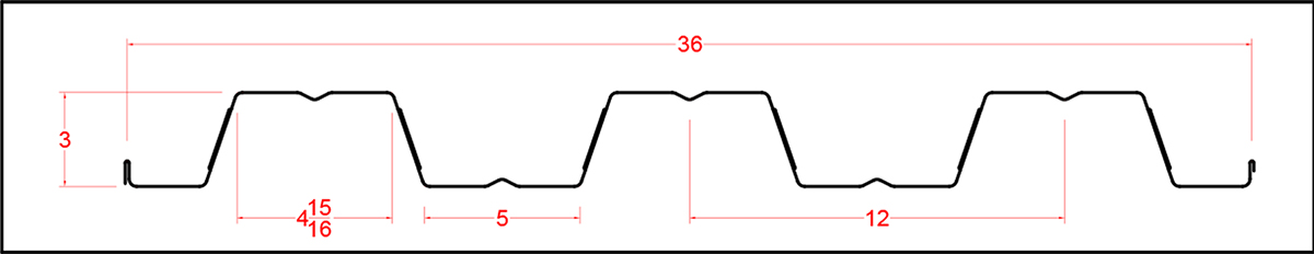 Composite Decking 20GA