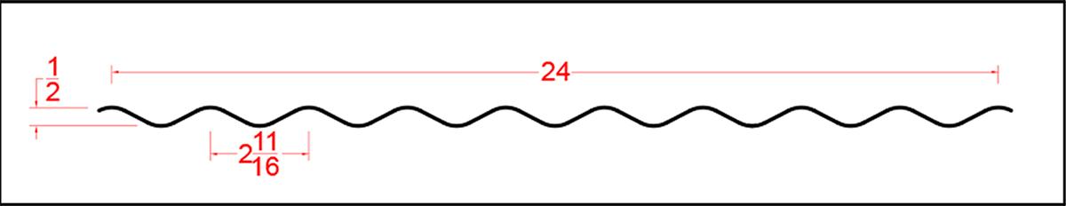 Galvalume Corrugated 26GA
