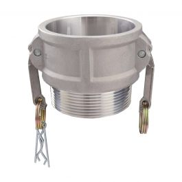 Type D 4 Coupler x 4 Female NPT USA Sealing Cam and Groove Fitting Aluminum